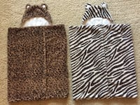 PBK Pottery Barn Kids Faux Fur Hooded Animal Towels Arlington, 22206