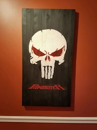 Punisher Skull Specialty flag.  Columbia, 29212