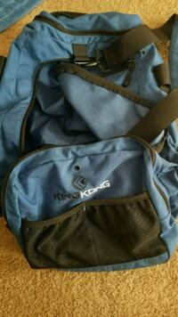 Blue King Kong gym bag.  Gainesville, 20155