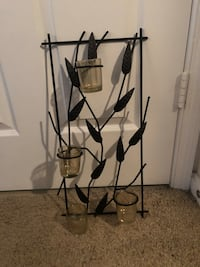 Metal wall three candle holder Ashburn, 20147