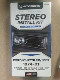 Car stereo install kit Knoxville, 37920