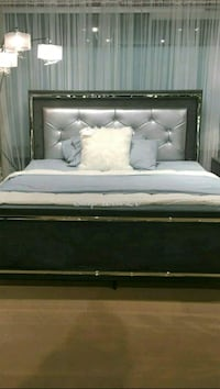 Queen LED light bed frame  Las Vegas, 89109