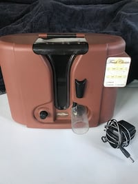 Brown and black fresh choice corded electric appliance