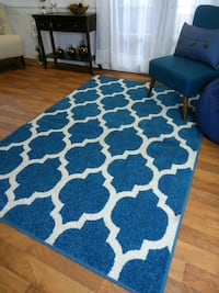 Blue Runner And 5x8 Rug Livingroom Carpet  Bethesda