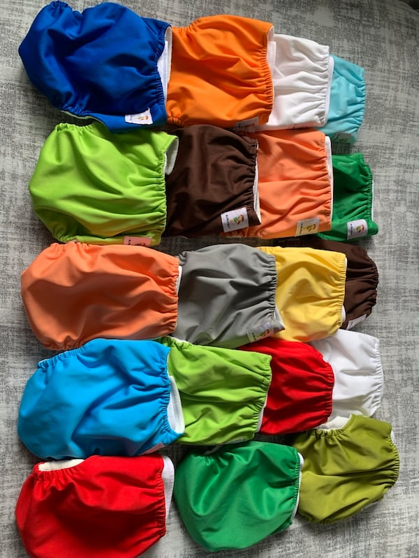 Starter pack of cloth diapers 4