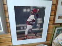 Luis Tiant extra large 26 x 22 inch Framed photo  Cranston, 02920