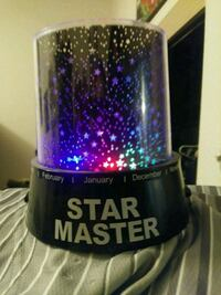 Star projector w/music and extra features Eugene, 97401