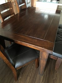 brown wooden dining table set Woodbridge, 22191