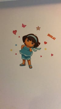 Dora wall stickers