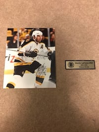 Martin lapointe signed 8x10 with coa Guelph, N1E 7L8