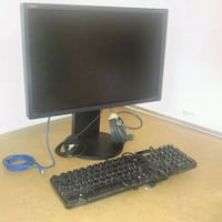 "NEC LCD 21-24"" MONITOR with 3 USB, VGA, SVGA, HMID 576 km"