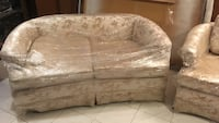 20 year couch and love seat  never used Toronto, M9L 1L3