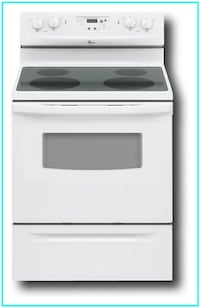 "Reconditioned Whirlpool - 30"" Freestanding Electric Range RF212PXSQ"