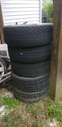 4 Tires and 3 rims all in good condition  Arlington, 22204
