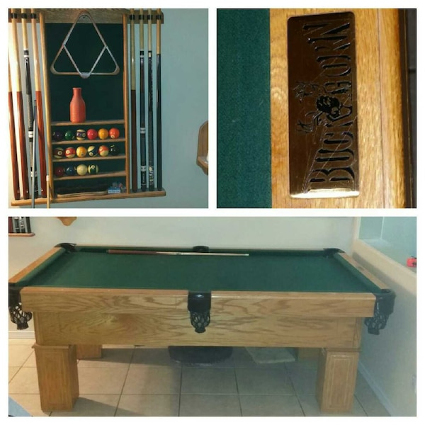 Used Buck Horn Pooltable Ft Pooltable For Sale In Avondale Letgo - Buckhorn pool table