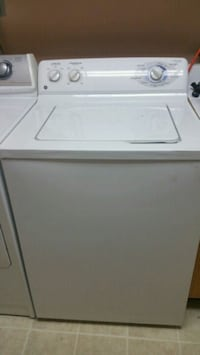 white top-load clothes washer 37 km