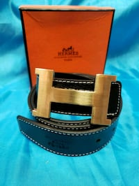 brown and black leather belt Los Angeles, 91402