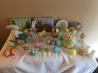 Easter decorations   Entire display sold one price Surrey, V3V 7L9