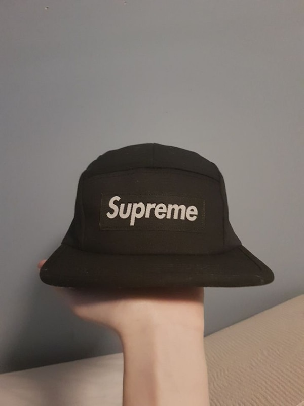 Used Supreme camp hat (fake) for sale in Brantford - letgo 445bfccfbcc1