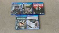 Lot of 5 PS4 Games Chesapeake
