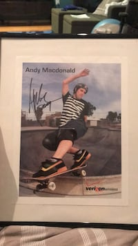 Andy McDonald Signed picture  Vienna, 22180