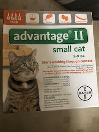 Small cat Advantage 4 pack Gaithersburg, 20877