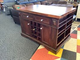 New Solid Wood Kitchen Island