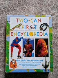 kids encyclopedia learning education books (set of 4) Toronto, M1C