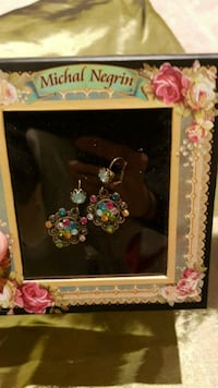 BNIB: Michal Negrin Earrings Markham, L6E 1C7