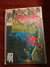 Downtown is Deadly spider man. 2099 #6