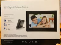 "10"" LCD digital picture frame- brand new  Mississauga, L5L 1G5"