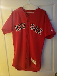 Authentic Red Sox Button Up Jersey