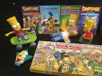 The simpsons collectables  Newmarket