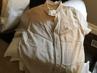 Tan button-up shirt Windsor, N9J 3L1