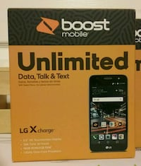 New Boost Mobile LG X Charge Smartphone Prattville, 36067
