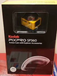 Brand New Kodak Pixpro sp360 Kit..