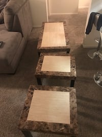 Coffee table and 2 end tables great condition  Minnetonka, 55305