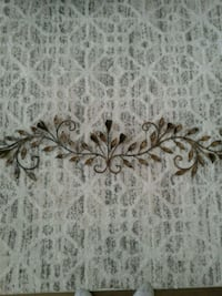 Long metal wall decor