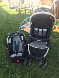 Graco Click Connect Car seat/Stroller/3 Bases Jefferson, 17362