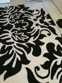 black and white floral textile Greeneville
