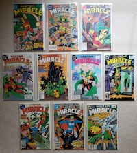 Mister Miracle comic lot Mount Airy