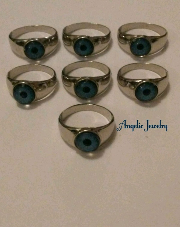Eyeball Rings - lot