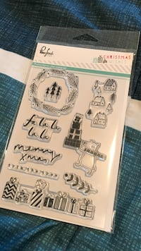 Christmas Wisher stickers pack Red Deer, T4R 0S3