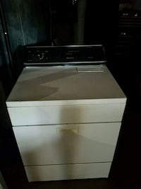 white and black front-load clothes dryer  Jonesborough, 37659