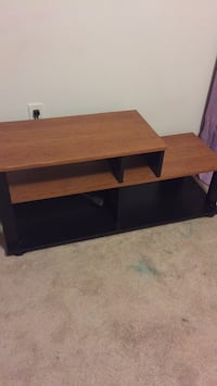 brown and black TV stand Montville, 07045