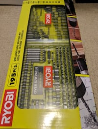RYOBY 195 pieces drilling and driving kit Centreville, 20120