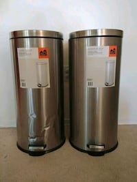 30 L Stainless Steel Garbage Cans Toronto, M8W 1M6