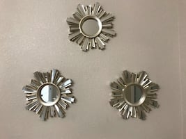 Wall mirror decor set 3