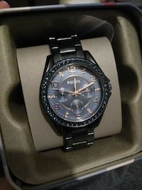 New Fossil watch blue stainless steel Radcliff, 40160