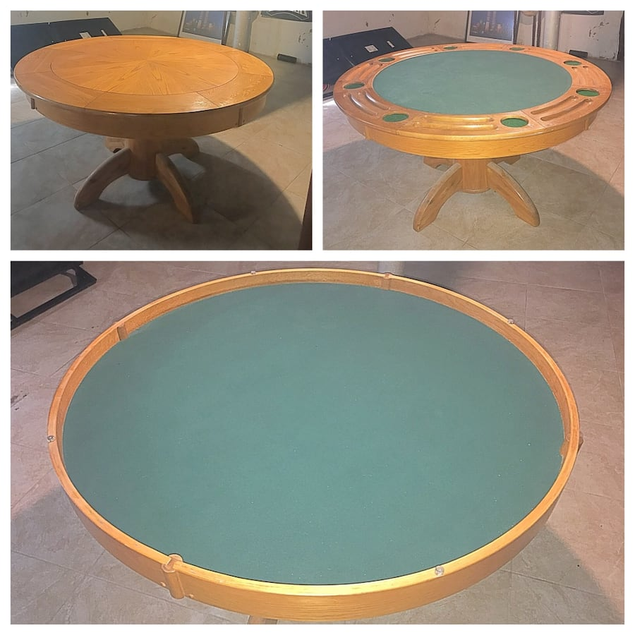 Poker Table 3in 1